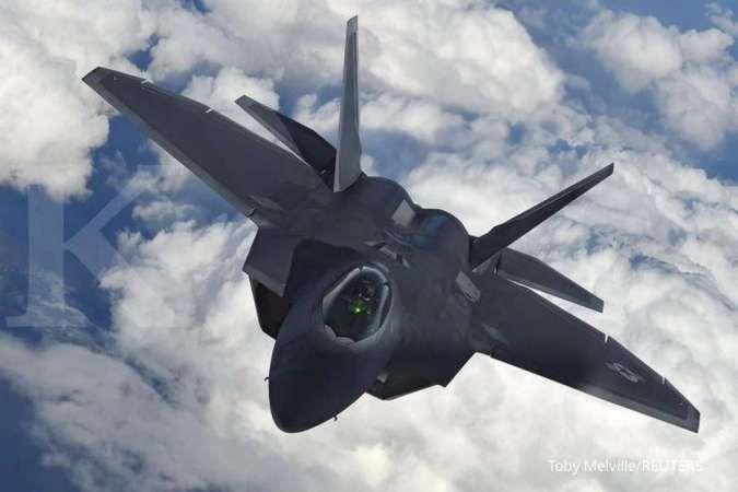 Hadapi China, AS kirim dua lusin jet tempur F-22 ke Pasifik