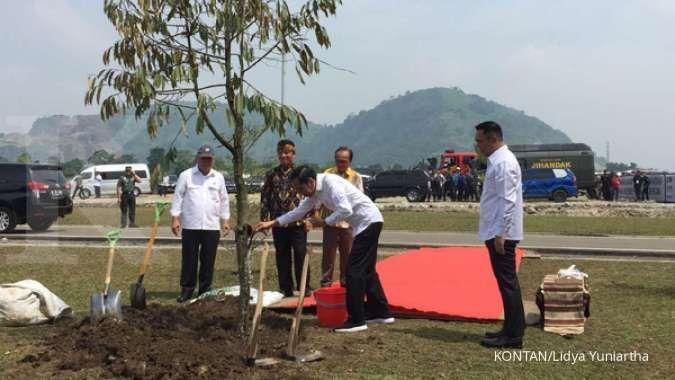 Proyek Terowongan Nanjung selesai, Jokowi: Banjir Bandung bisa berkurang