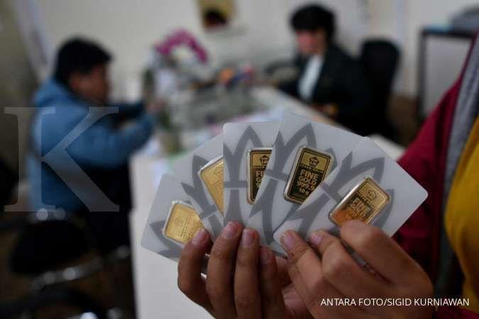 Harga emas Antam 24 karat hari ini turun Rp 3.000 per gram, Jumat 4 September 2020