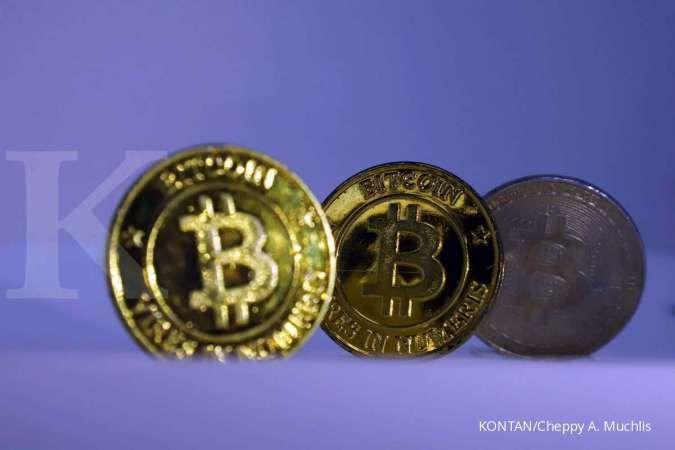 Setelah menanjak selama satu pekan terkahir, Bitcoin terjun bebas