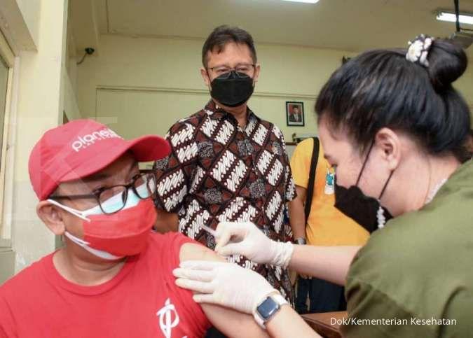 Kejar target vaksinasi 2 juta dosis per hari, Menkes pastikan stok vaskin siap