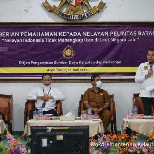 KKP Gencarkan Upaya Cegah Nelayan Indonesia Melintas Batas