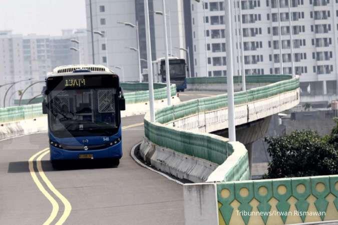 Ini lima rute bus Transjakarta yang tidak beroperasi imbas penutupan jalan