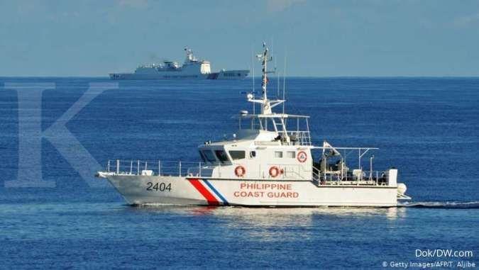 Filipina lawan kapal China lewat latihan maritim di Laut China Selatan