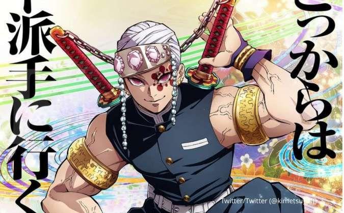 Anime Demon Slayer: Kimetsu no Yaiba Season 2 tayang tahun 2021 ini, begini ceritanya