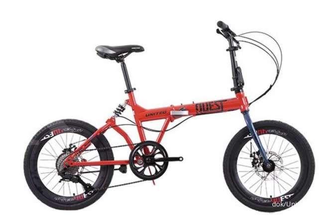 Sepeda lipat United Quest C1.04