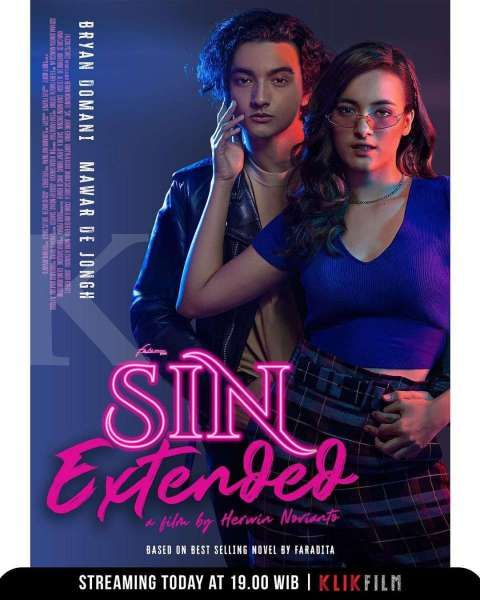 Sin Extended, film Indonesia romantis yang terbaru di Klik Film.