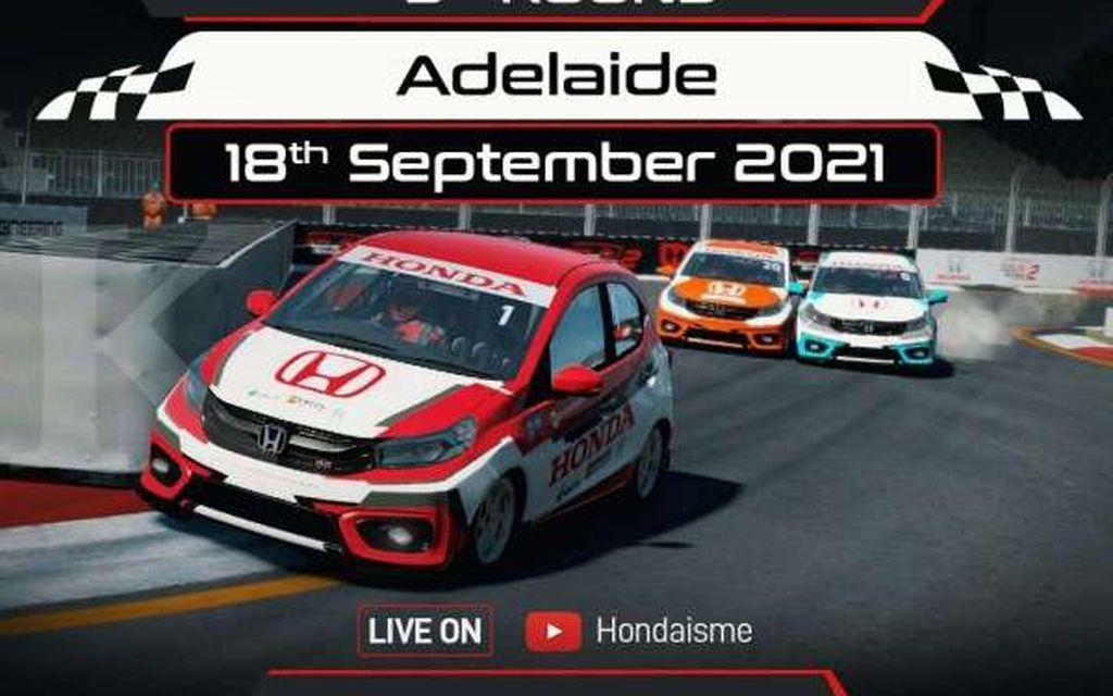 Jajaki Sirkuit Virtual Adelaide, Babak Ketiga Honda Racing Simulator Championship Siap Digelar Akhir Pekan Ini