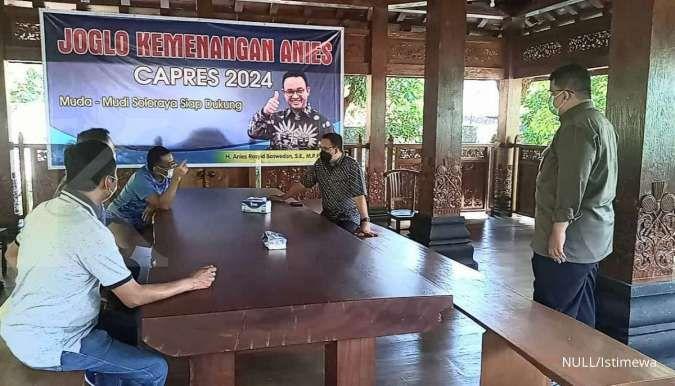 Safari ke daerah, Anies dapat kejutan posko Joglo Kemenangan Capres 2024