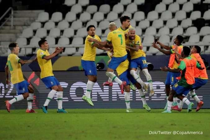 Semifinal Copa America 2021 Brasil vs Peru