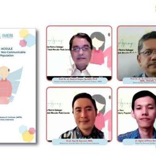 Indonesia Menuju Peningkatan Populasi Penduduk Lansia, IMERI FKUI dan Nutricia Luncurkan Modul Healthy Aging