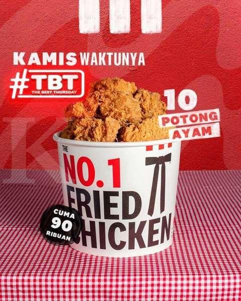 Promo KFC TBT 14 Oktober 2021