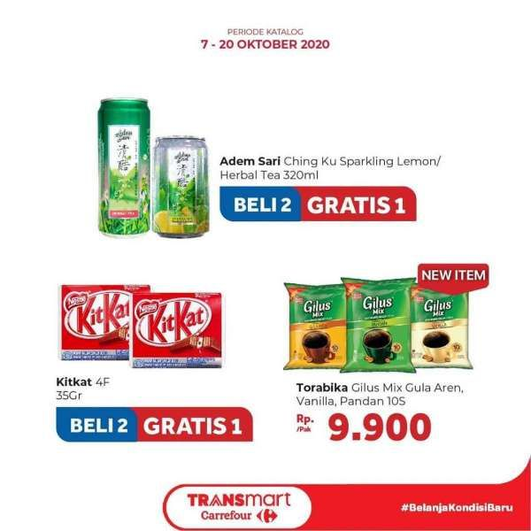 Promo Transmart Carrefour 7-20 Oktober 2020