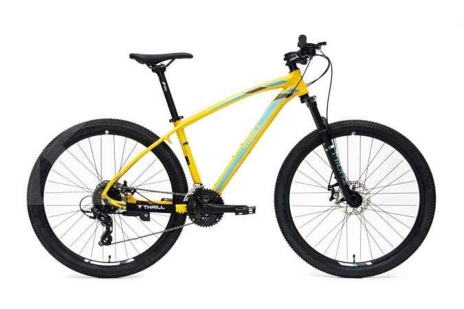 Pilihan warna terbaru, inilah harga sepeda gunung Thrill Cleave 2.0 terkini (Oktober)