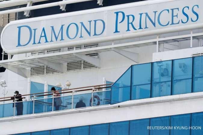 Dua penumpang kapal pesiar Diamond Princess meninggal