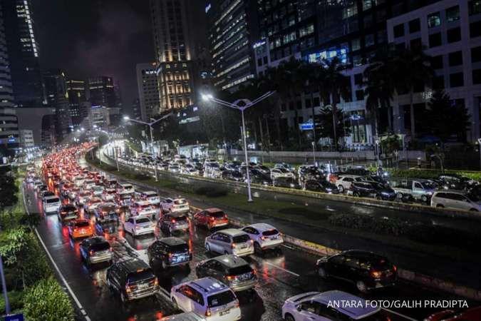 Ganjil genap Jakarta bakal berlaku bagi mobil dan motor, saat ini belum mulai