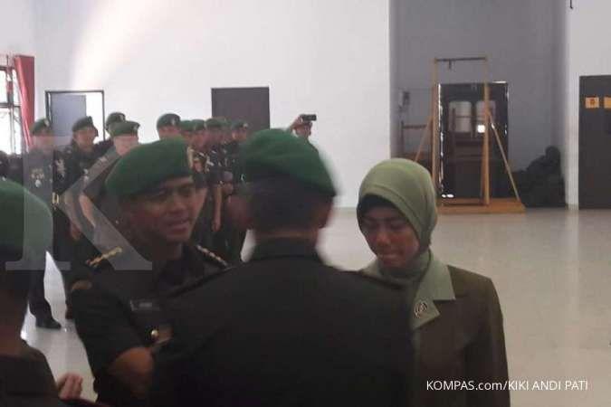 Eks Dandim menjalani penahanan 14 hari di Denpom Kendari akibat postingan istri