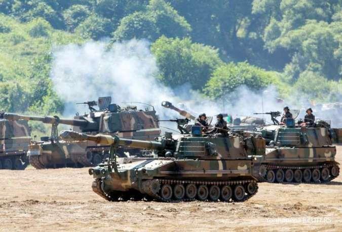Media Korea Utara sebut Korea Selatan sedang mempersiapkan invasi