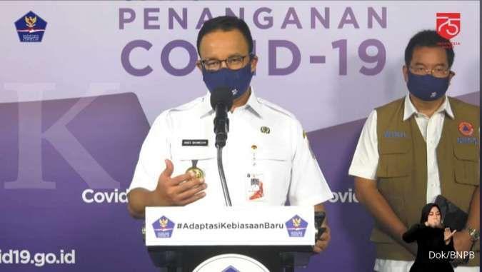 Anies Kembali Perpanjang Masa Transisi Psbb Jakarta Hingga 10 September 2020