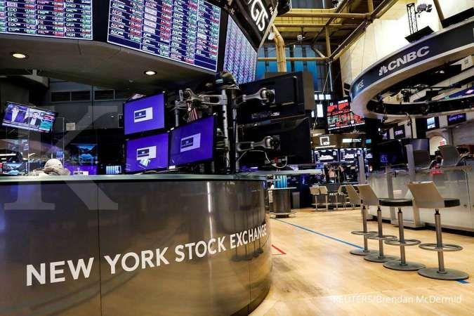 Data pekerjaan AS melambat, Dow Jones dan S&P 500 cetak rekor tertinggi