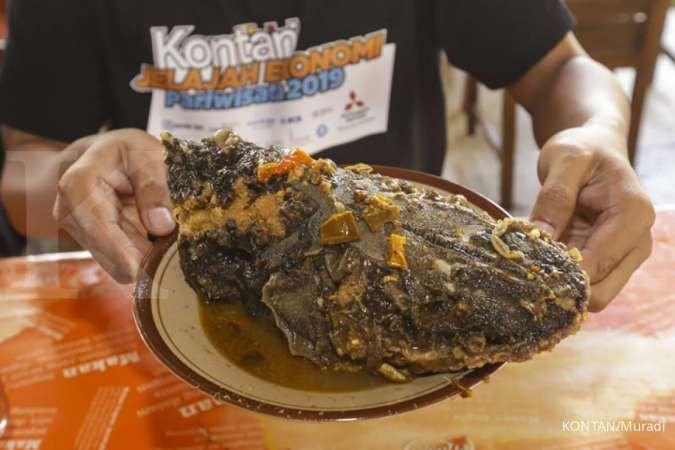 Seperti ini lho pedasnya olahan ikan khas Kali Progo