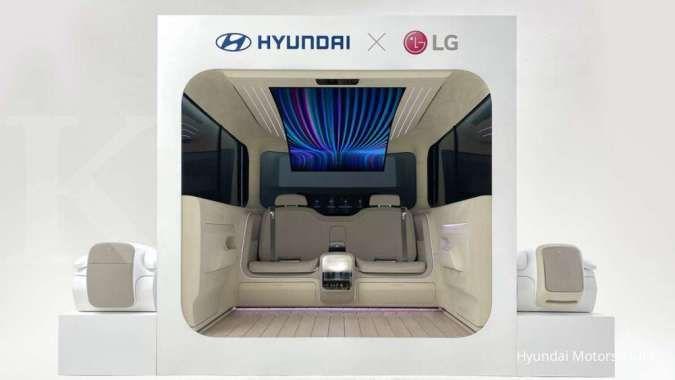 Konsep Interior Hyundai Ioniq