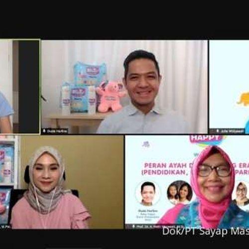 Popok Baby Happy Gelar Webinar Pembinaan Peran Ayah Dalam Dunia Parenting di Era Normal Baru