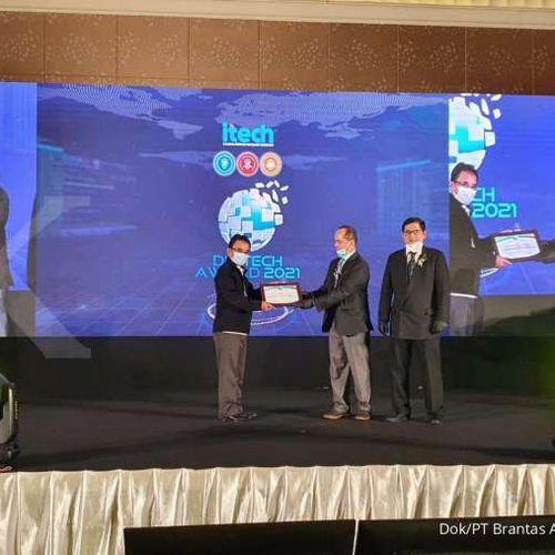Torehkan Prestasi, Brantas Abipraya Sabet Digitech Award 2021