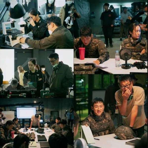 Sutradara drama Korea terbaru Search memuji penampilan Krystal dan Jang Dong Yoon sebagai tentara.