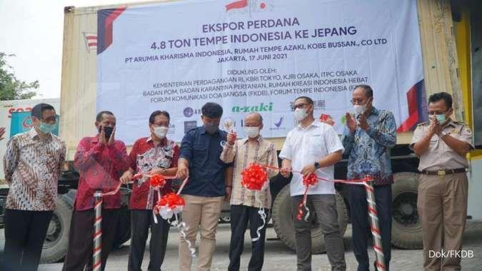 Produk tempe asal Indonesia tembus pasar Jepang