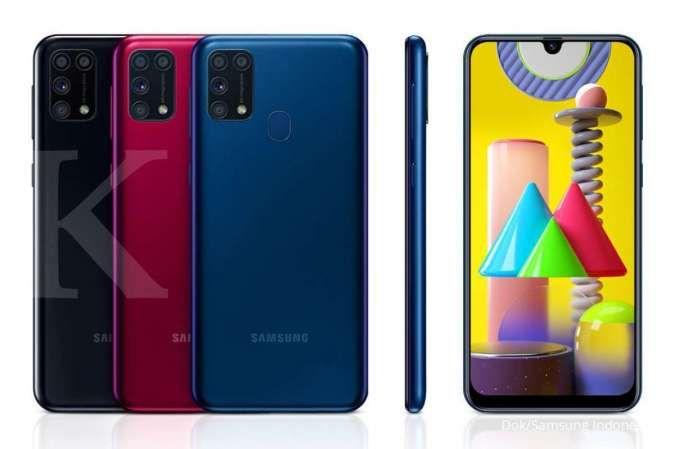 Harga Samsung M31 mulai dari Rp 3,2 jutaan, punya baterai 6.000 mAh dan RAM 6GB