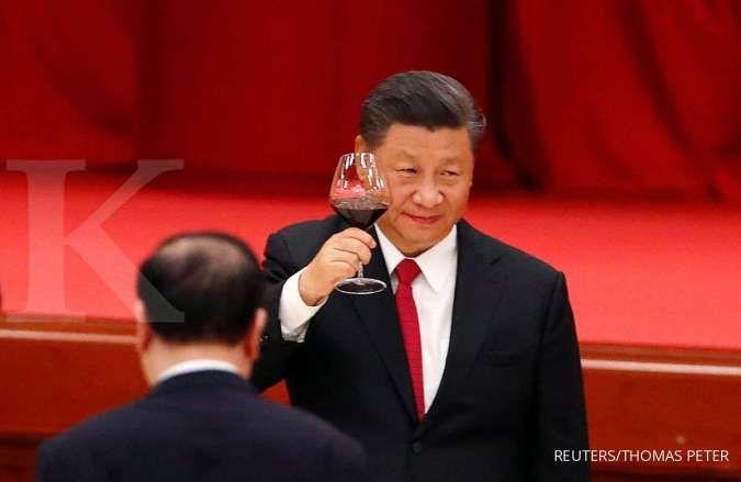 Presiden China Xi Jinping diduga positif corona, ini buktinya