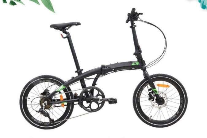 Diskon besar! Harga sepeda lipat Element Ecosmo 8SP edisi Tokopedia murah meriah