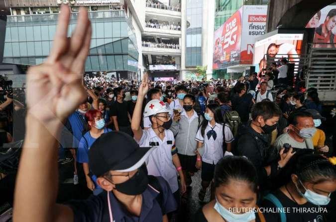 Pemerintah Thailand menjadi sorotan kelompok hak asasi internasional