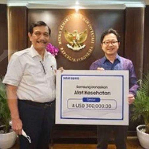 Bantuan untuk Penanganan Covid-19 di Indonesia dari Samsung