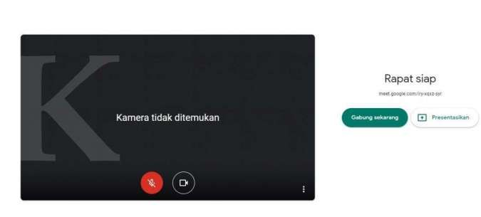 Ada fitur cek koneksi internet di Google Meet, apa kegunaannya?