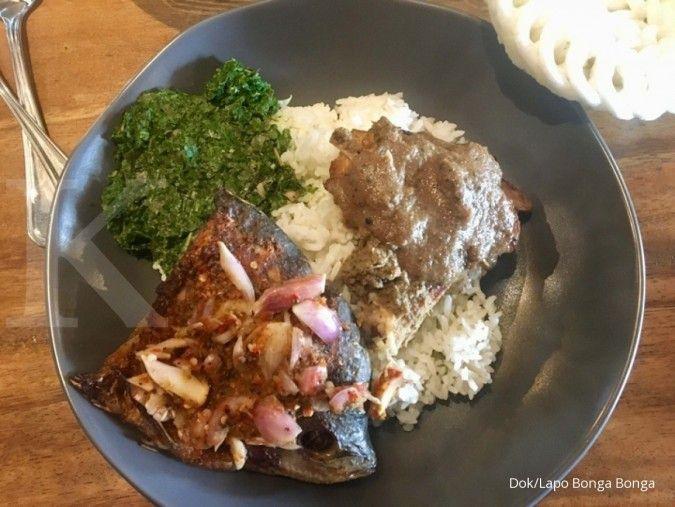 Mengecap menu lapo halal khas Batak di Bonga-Bonga