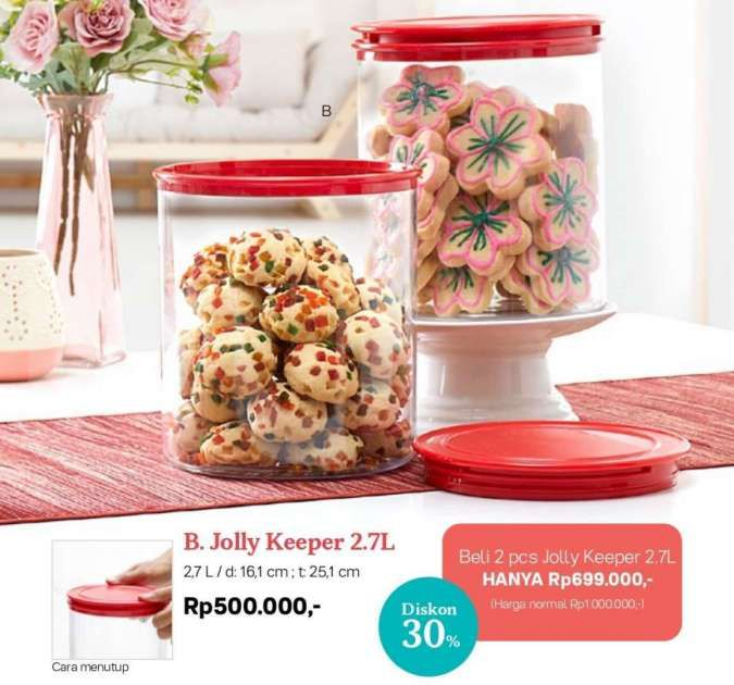 katalog promo Tupperware Januari 2021