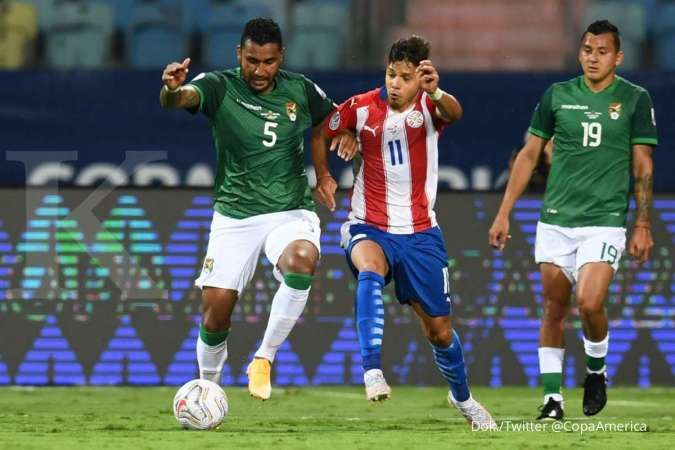 Jadwal Copa America 2021 antara Chile vs Bolivia di Grup B