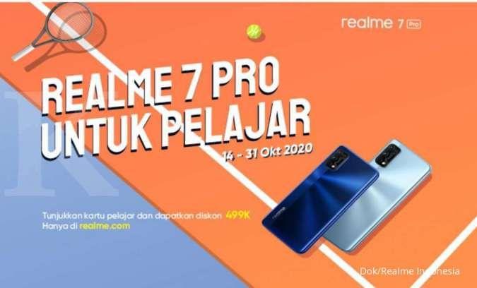 Diskon harga Realme 7 Pro khusus untuk pelajar, besok hari terakhir!