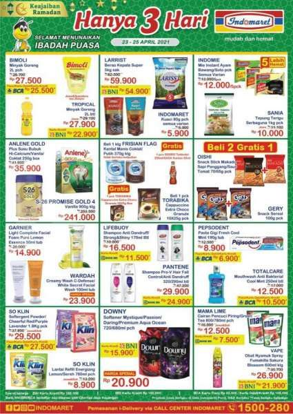 Promo JSM Indomaret Hanya 3 Hari 23-25 April 2021