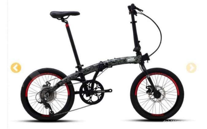 Bernuansa nusantara, harga sepeda lipat Wimcycle Pocket Rocket terjangkau