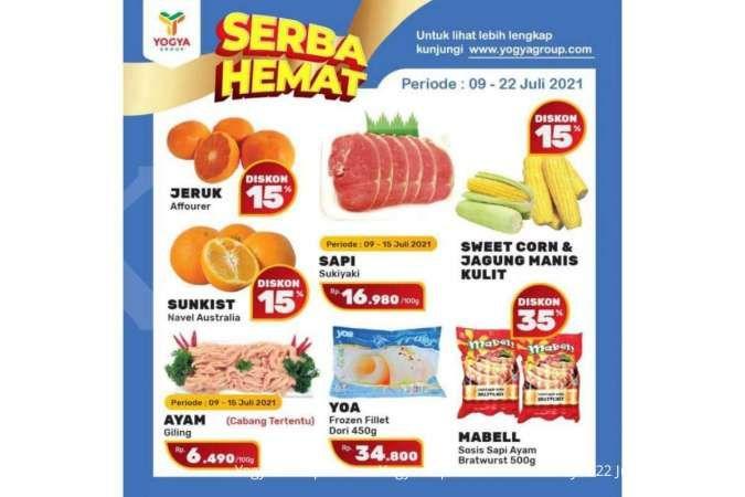 Promo Yogya Supermarket weekday 21 Juli 2021, diskonan hari kerja!