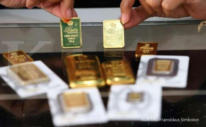 Naik Rp 1.000, harga emas Antam ada di Rp 918.000 per gram hari ini, Sabtu (25/9)