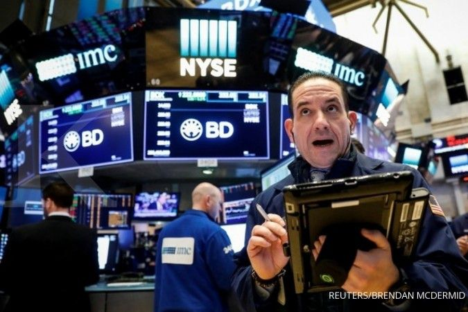 Wall Street anjlok, penurunan S&P 500 tertajam sejak 2011