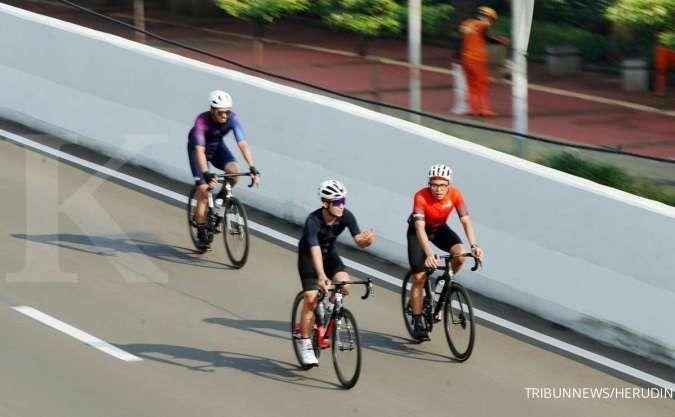 Pesepeda road bike boleh lintasi JLNT, komunitas Bike to Work layangkan protes