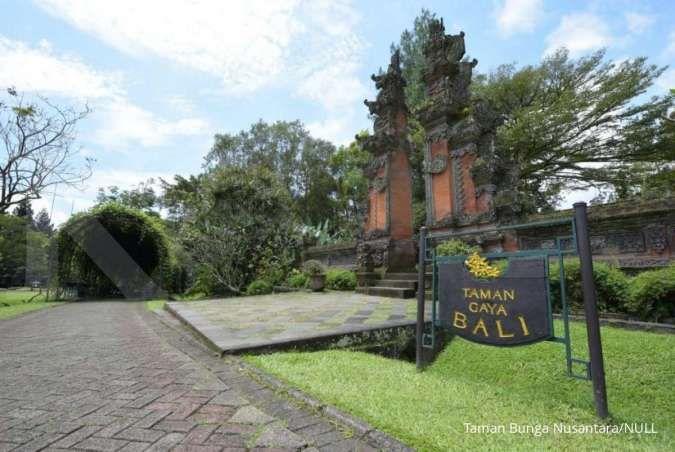 Koleksi lengkap, Taman Bunga Nusantara cocok untuk wisata akhir pekan
