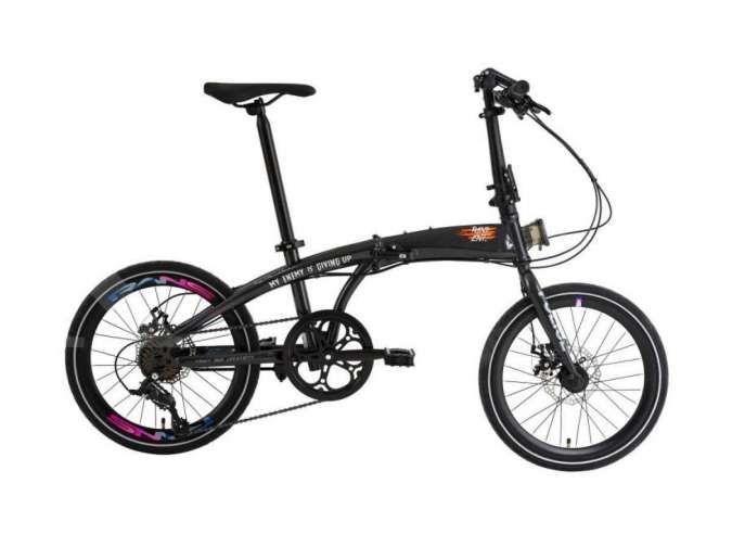Sedang diskon! Ini daftar tipe dan harga sepeda lipat Police Bike yang didiskon