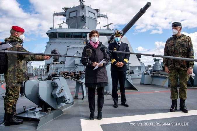 Kapal perang Jerman menuju Laut China Selatan, apa yang terjadi?