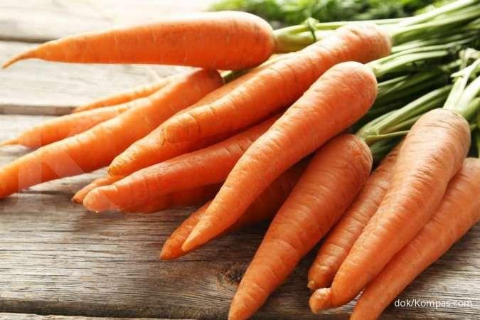 Ini manfaat serta makanan kaya vitamin A yang penting untuk tumbuh kembang anak
